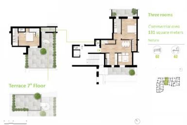 Attico nuova costruzione con terrazza 5